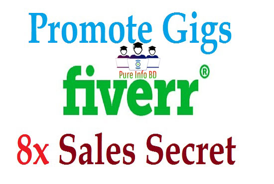 How to Promote Fiverr Gigs 2021| Fiverr 8x Sales Secret