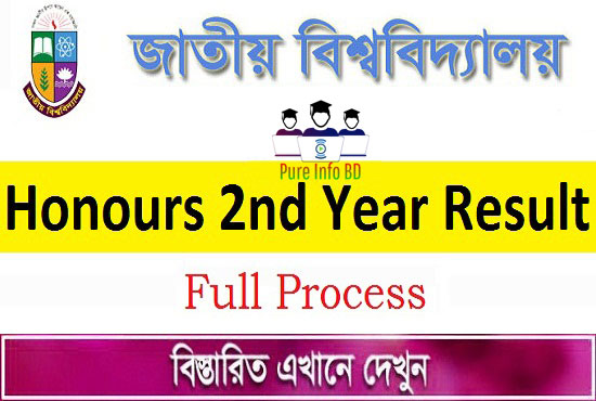 Get NU Honours 2nd Year Result 2020 Session (2017-18) | Full Process