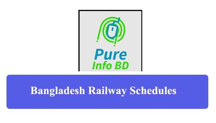 Bangladesh Railway Schedule, Ticket Price & Booking