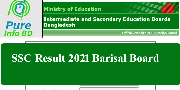 SSC Result 2021 Barisal Board-Full Online Marksheet