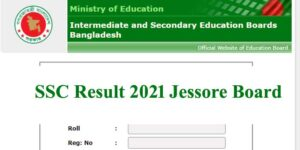 SSC Result 2021 Jessore Board