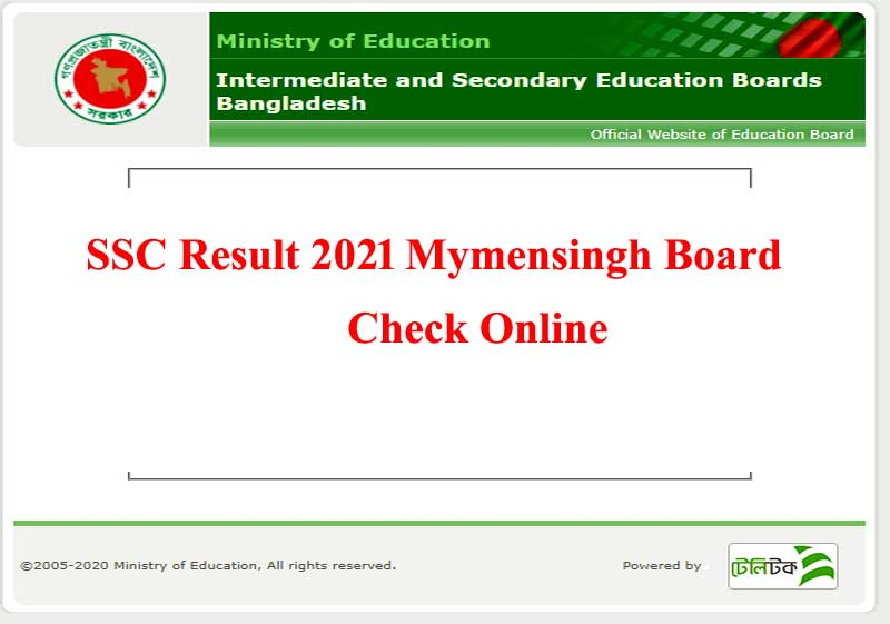 SSC Result 2021 Mymensingh Board | Date And Marksheet