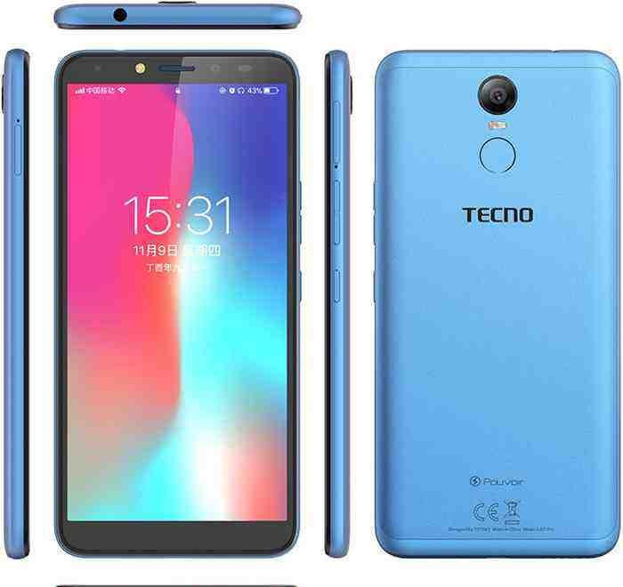 TECNO Pouvoir 2 Pro Price in Bangladesh